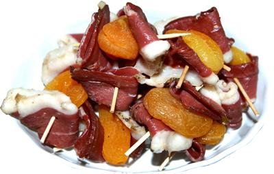 Mot cl magret de canard fum cahier de recettes - Brochettes aperitives sans cuisson ...