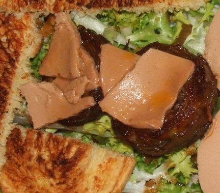 Artichauts au foie gras cahier de recettes - Quantite foie gras par personne ...